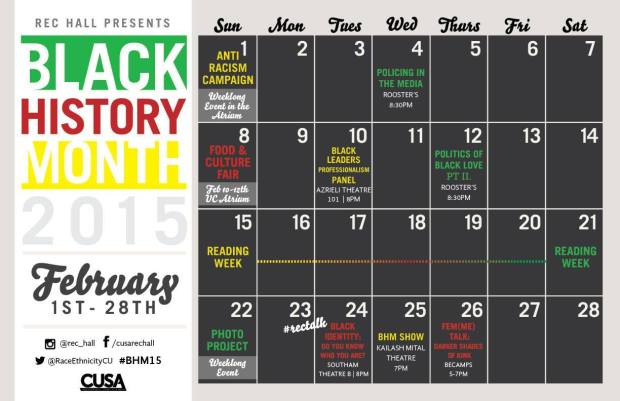 Carleton University Black History Month