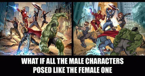 Sexism in the Depiction of Female Superheroes (1/6)