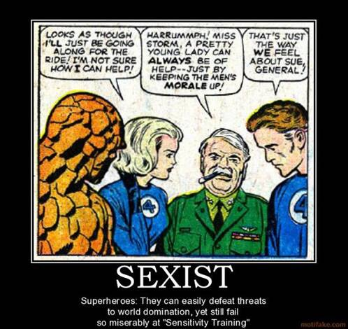 Sexism in the Depiction of Female Superheroes (4/6)