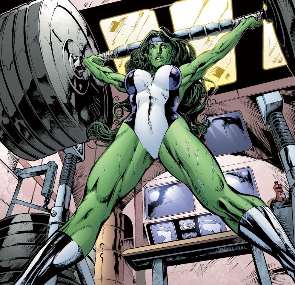 Sexism in the Depiction of Female Superheroes (5/6)